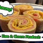 Ham and Cheese Pinewheels