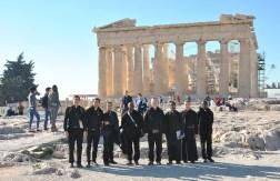 IVE's seminarians at Parthenon in Athens