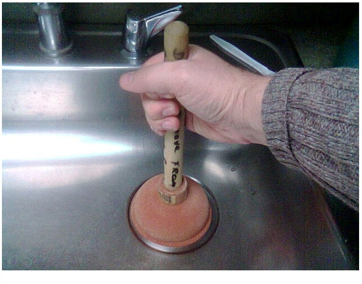 to unclog your kitchen sink