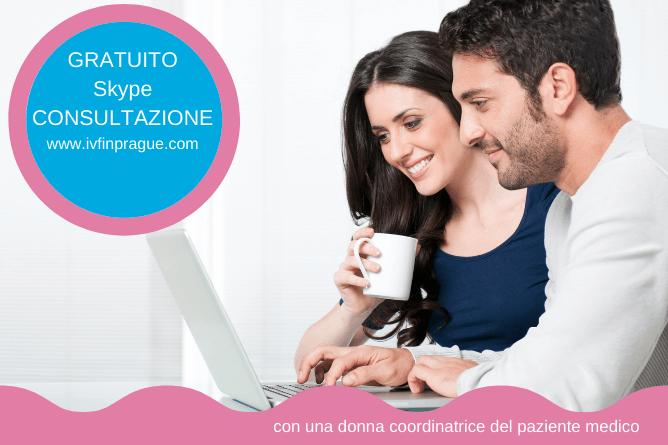 Consulenza Skype gratuita- Ovodonazione IVF All'estero a Praga