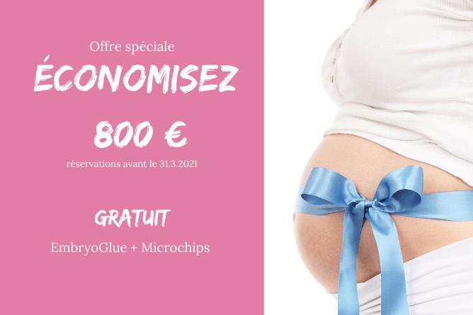Offre spéciale ÉCONOMISEZ 800 € - FIV avec Don d'ovocytes in Meilleur centre FIV en Europe