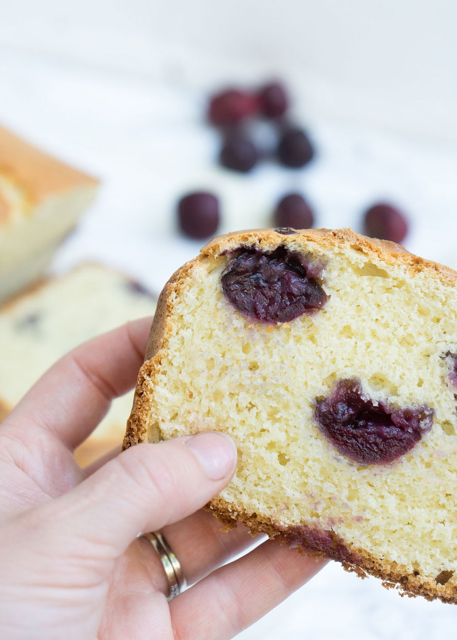 Cherry Almond Loaf
