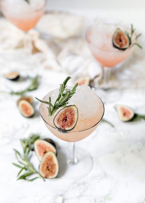 Fresh Fig & Lavender Spritz