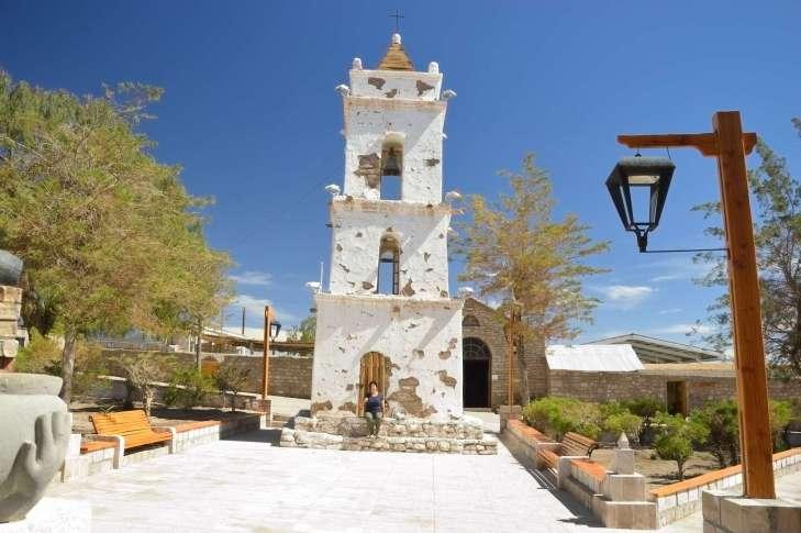 Toconao,  piccolo villaggio vicino a San Pedro de Atacama