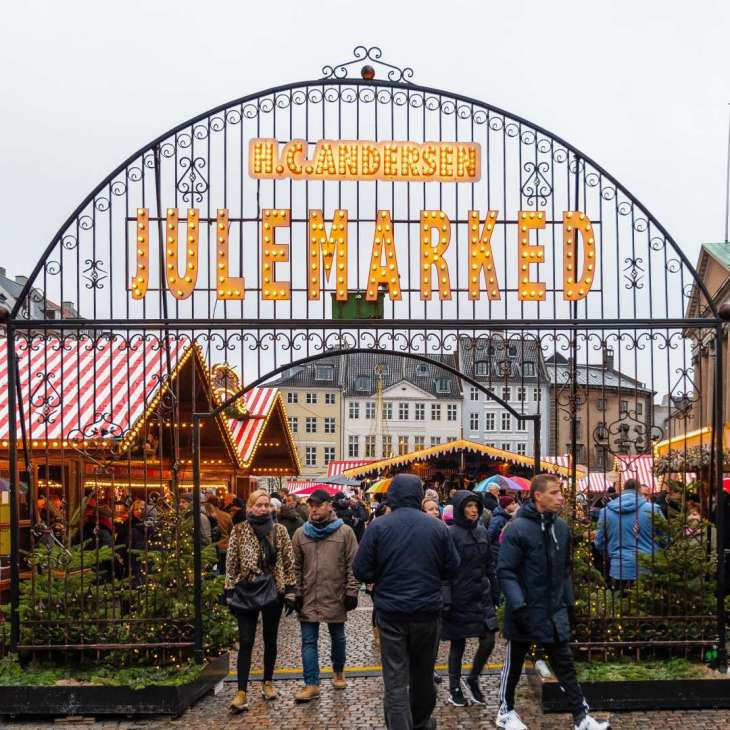 Copenaghen mercatino di Natale