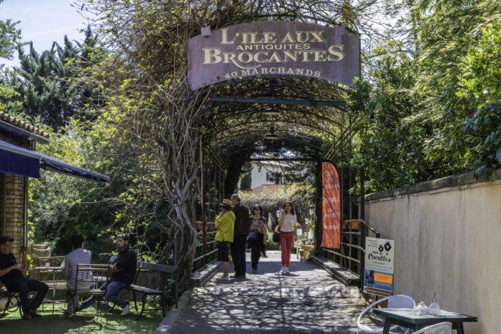 Provenza: brocantes e antiquari a L'Isle-sur-la-Sorgue