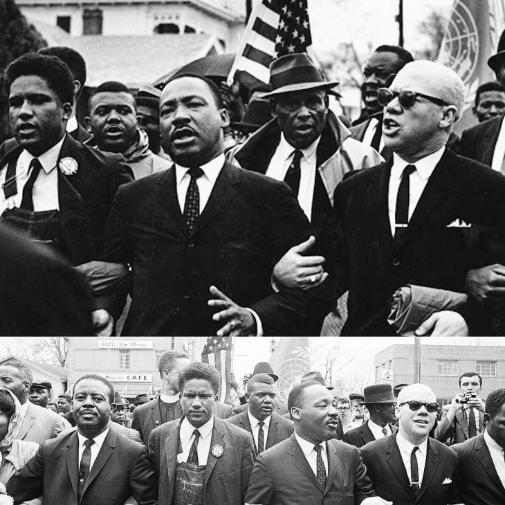 La marcia da Selma a Montgomery,  verso la libertà...