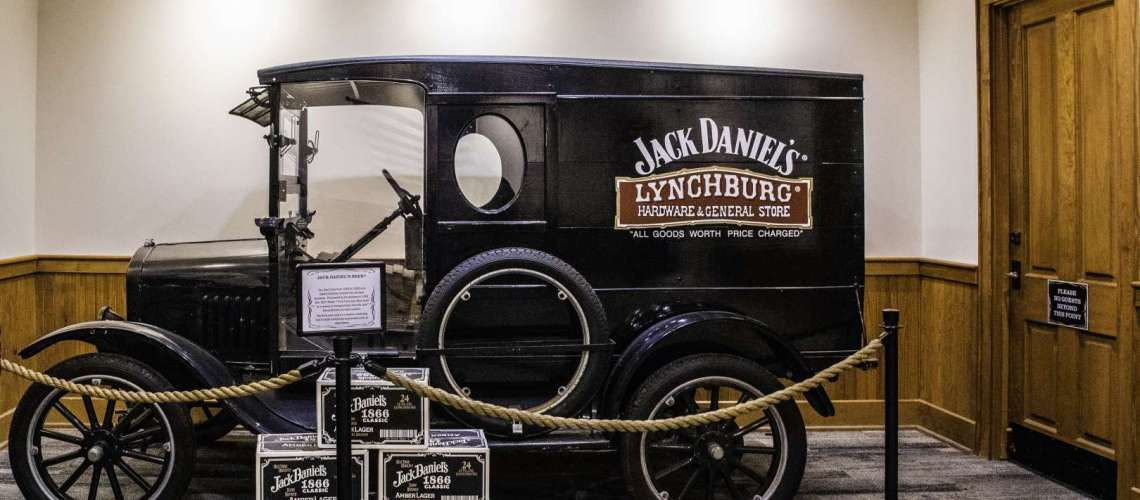 visita alla Jack Daniel's Distillery in Tennessee