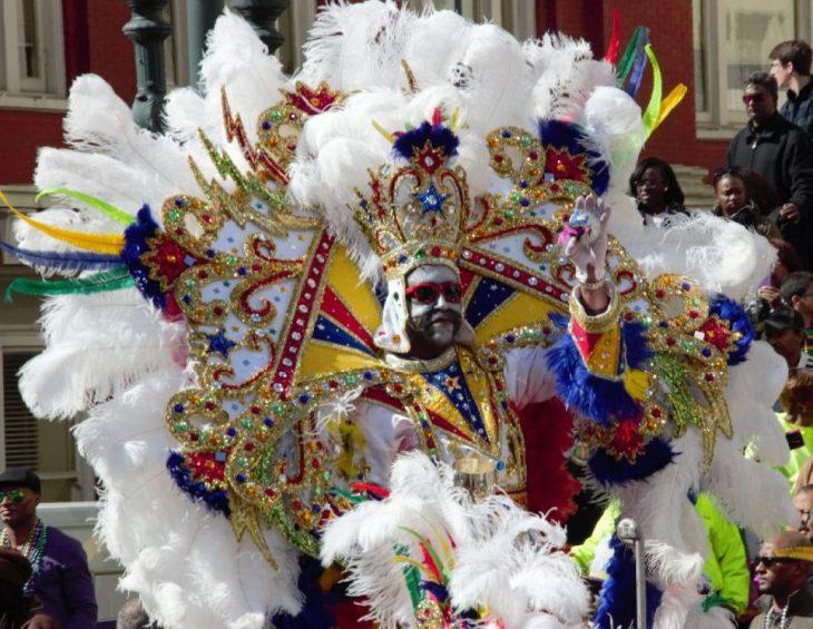 costumi della parata di Carnevale