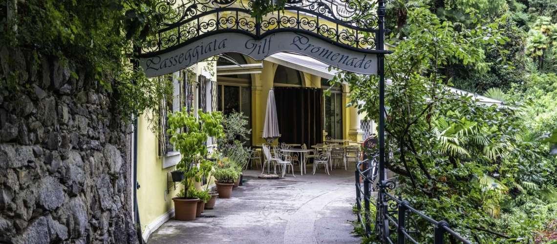 Passeggiate a Merano, romantica Gilfromenade