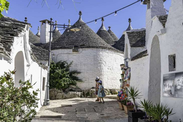 Alberobello i trulli  Patrimonio dell'Umanità