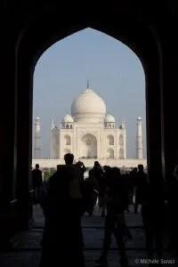 Ingresso al Taj Mahal