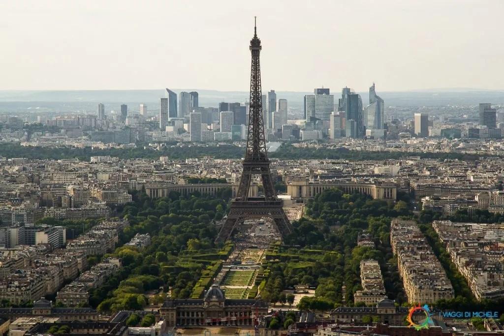 Tour Eiffel da Montparnasse