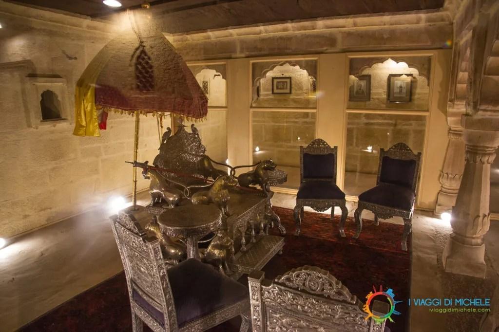 Forte di Jaisalmer, Palazzo del Re