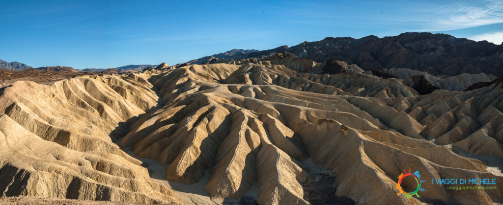 Zabriskie Point - Death Valley - USA - Foto Panoramiche