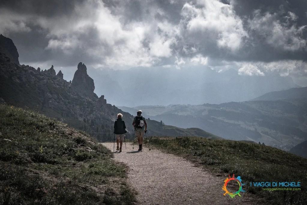 Verso il Rifugio Jimmy - Trekking a Selva di Val Gardena