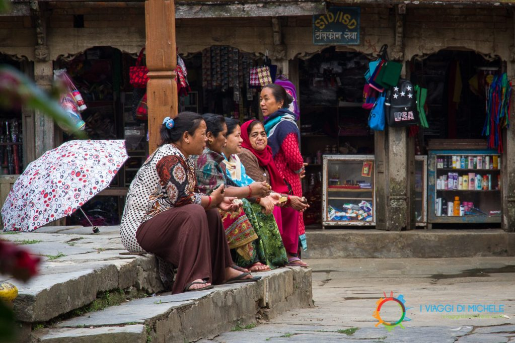 La gente del posto - Bandipur
