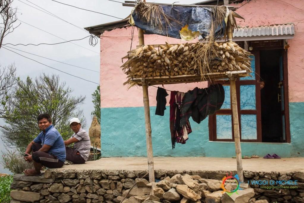 Uno degli ultimi villaggi prima di Manakamana
