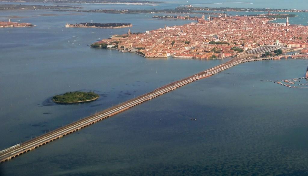 Ponte della Libertà - Accesso a Venezia