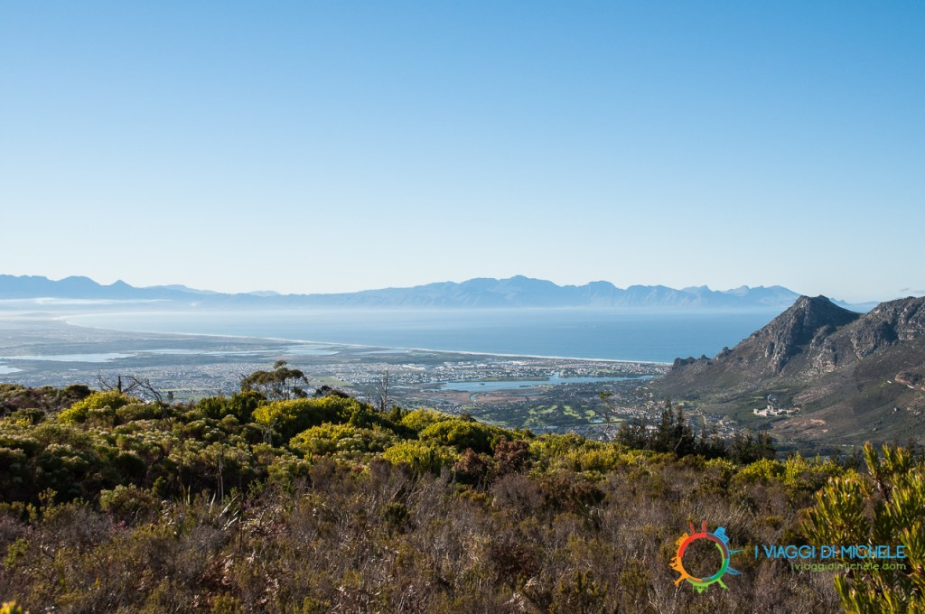 La vista da Elephants Eye - Table Mountain National Park