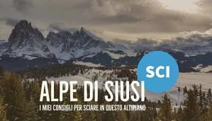 Immagine Articolo Alpe di Siusi