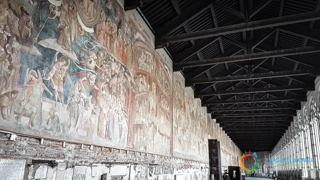 Gli affreschi del Camposanto Monumentale di Pisa - cosa vedere a Pisa
