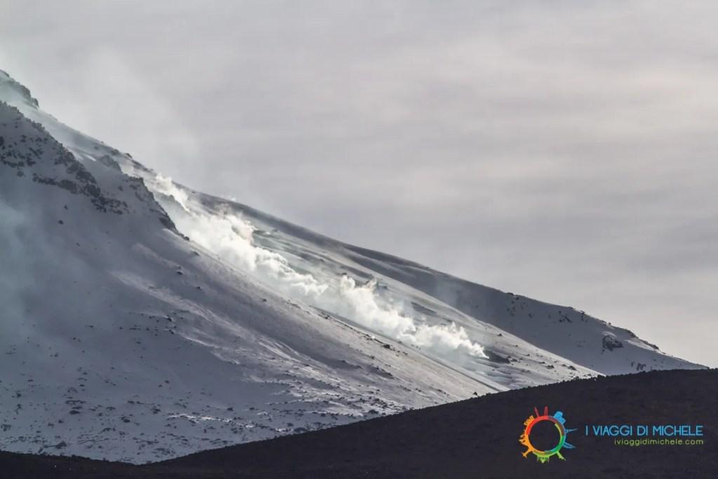 Particolare Vulcano Guallatiri