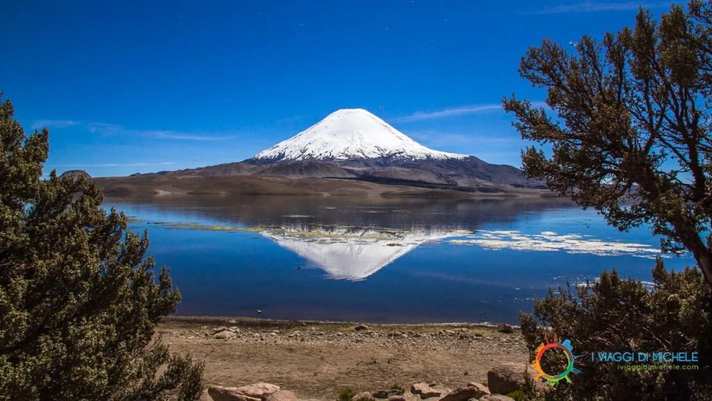 Vulcano Parinacota - Parco Nazionale Lauca - Come organizzare un viaggio in Cile