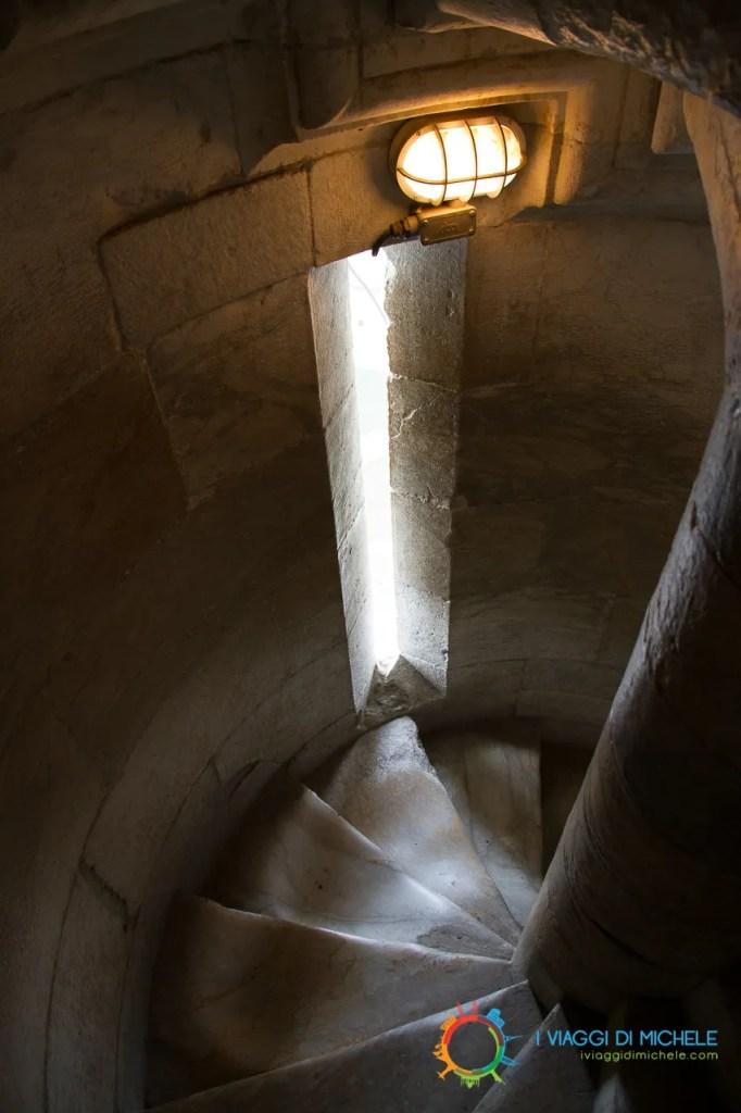 Interno della Torre di Pisa