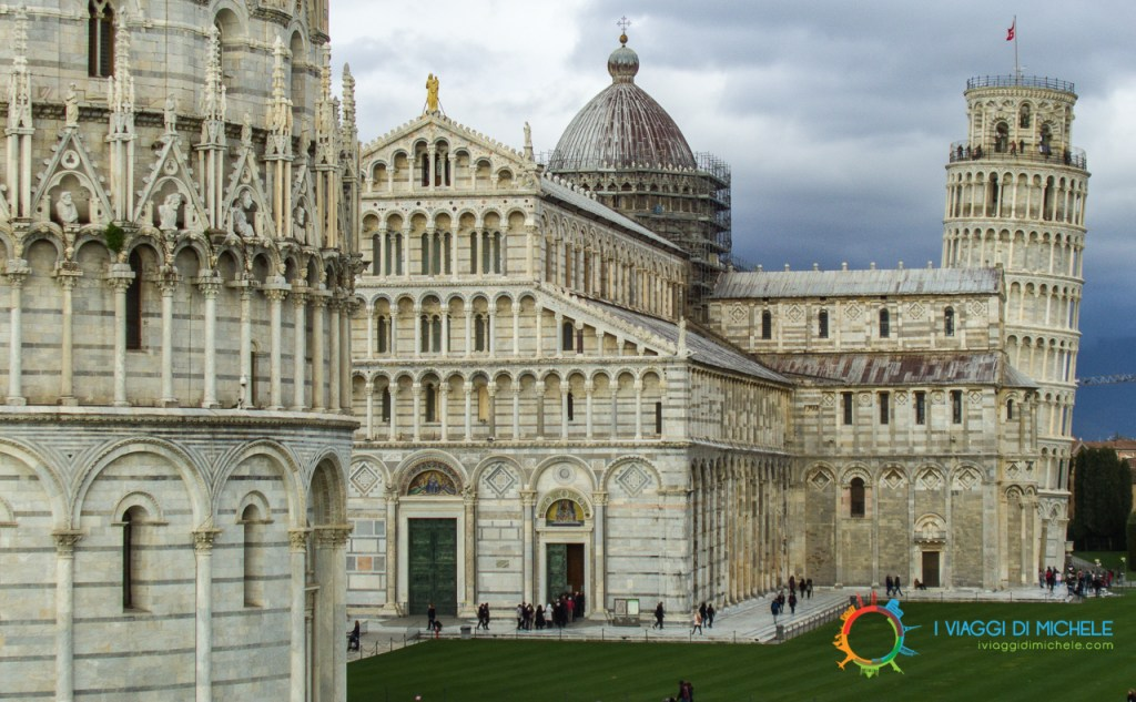 Le Mura di Pisa - Vista da Porta Nuova