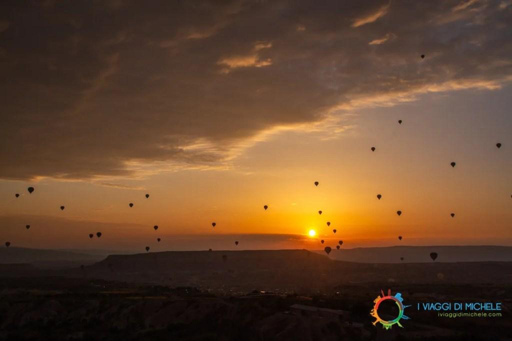 Alba a Uçhisar - La Cappadocia