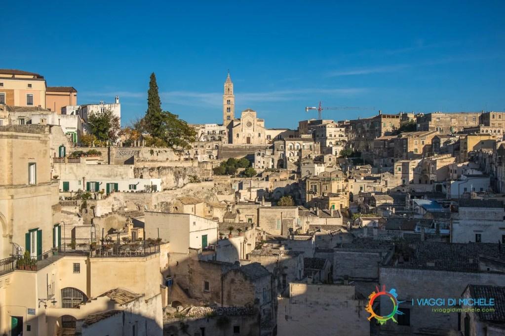 Belvedere Piazzetta Pascoli - Cosa vedere a Matera