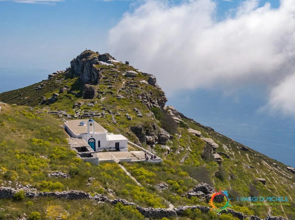 La Chiesa del Castello - Isola di Andros