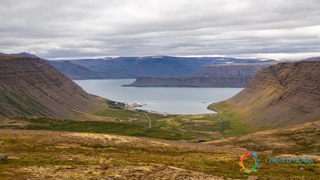 Bíldudalur e il fiordo Arnarfjörður - Fiordi Occidentali Islandesi