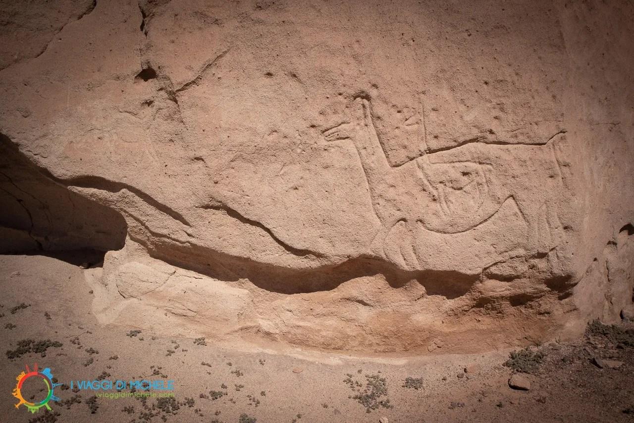 Petroglifo a Hierbas Buenas - Cosa vedere a San Pedro de Atacama