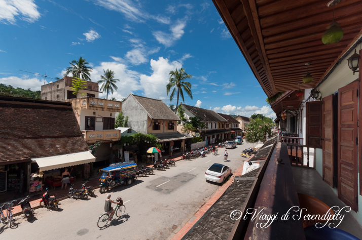 Luang Prabang viale principale