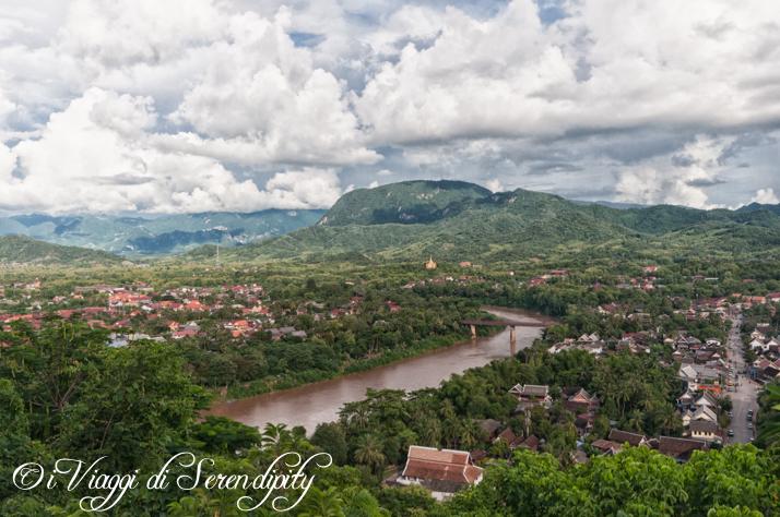 Luang Prabang vista dall'alto