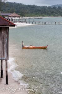 Isola di Koh Rong Cambogia spiaggia
