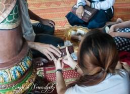 Preghiera Wat Phnom