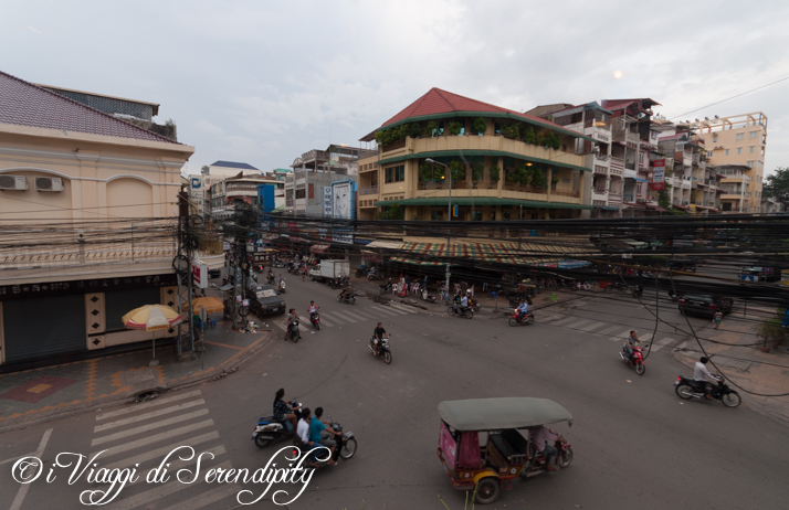 Phnom Penh incrocio