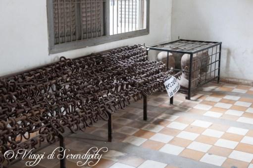 Tuol Sleng Museum S21 Scuola Prigione