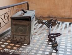 Tuol Sleng Museum S21 Scuola Prigione Cassetta degli attrezzi
