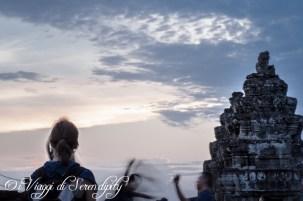 Tramonto su Angkor Wat