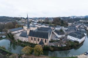 Lussemburgo Chemin de la corniche
