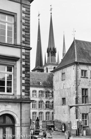 Lussemburgo centro città