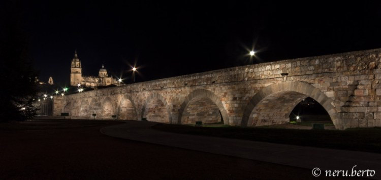 Salamanca by night