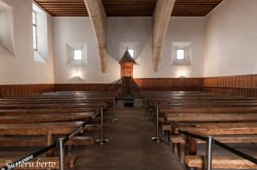Banchi dove gli studenti poteva sedersi e seguire le lezioni