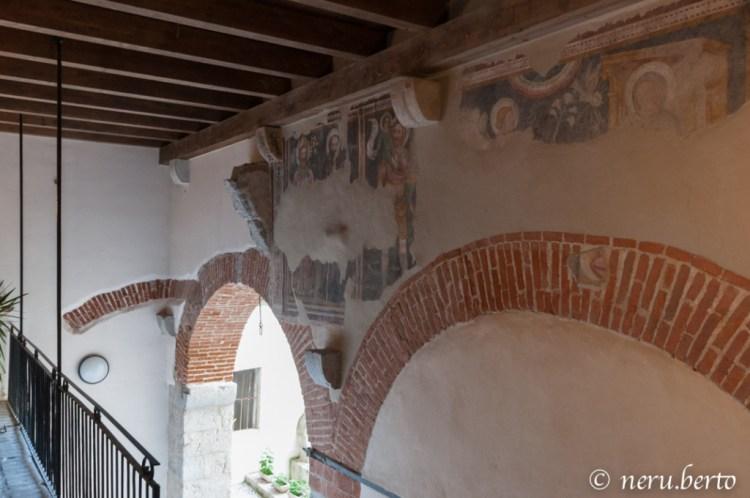 Palazzo Bontadi Rovereto affresco