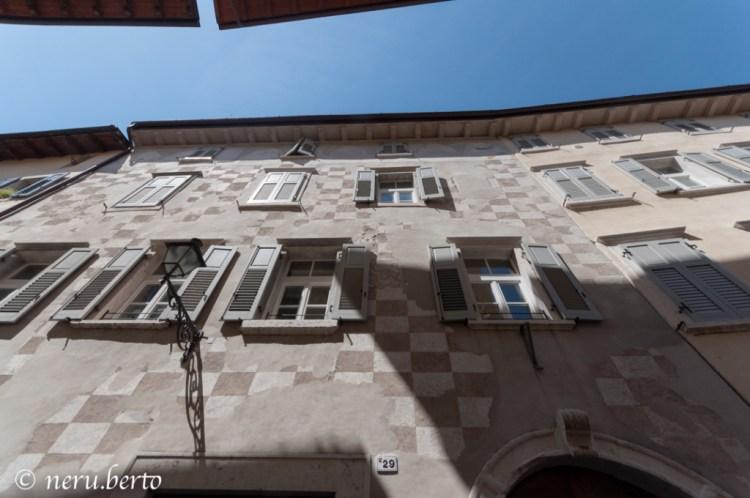 Facciata esterna di Palazzo Bontadi