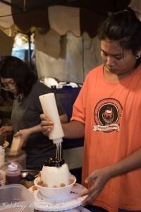 Preparando il Pangjen Bangkok